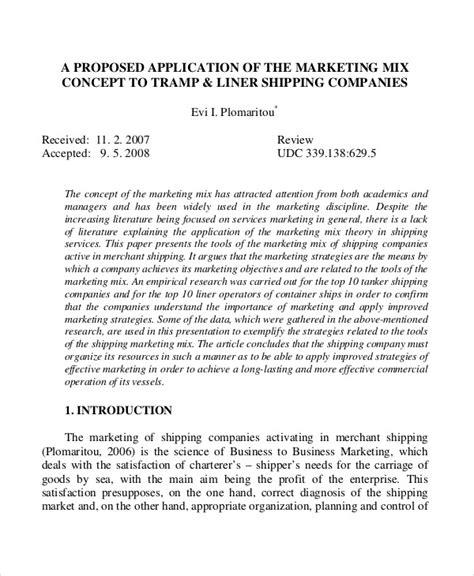 concept paper format business plan 10 concept proposal exles sles pdf