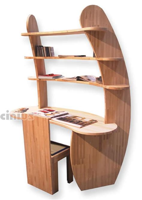 immagini scrivania scrivanie ufficio o cameretta in legno naturale cinius
