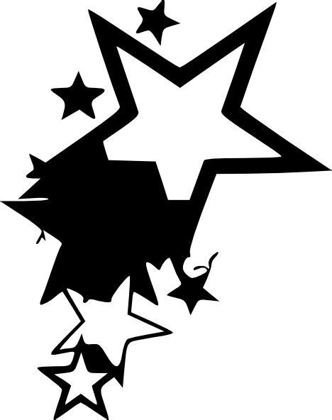 tattoo vector png star tattoo design by average sensation clip art at clker
