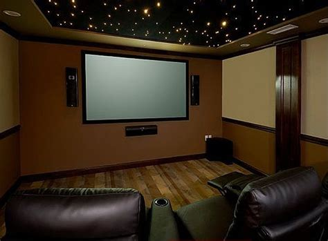 simple theatre room for my