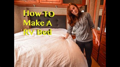 rv bedding     rv bed comfortable youtube