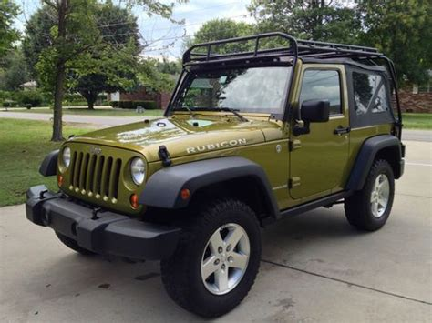 Jeep Jk Soft Top Roof Rack by Sell Used 2007 Jeep Wrangler Rubicon 2dr Soft Top