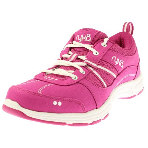 workout sneakers ryka 0758 womens tempo canvas signature workout athletic