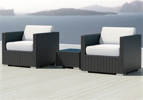 sunbrella fabric sectional sofas luxxella bistro 3pc sunbrella outdoor sectional sofa set
