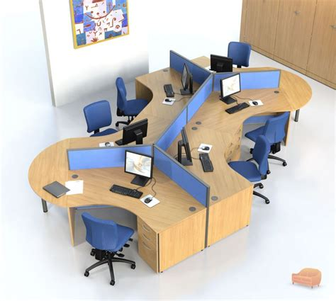 Desks Open Plan Office Furniture