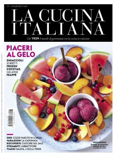 pdf cucina italiana la cucina italiana luglio 2017 pdf free