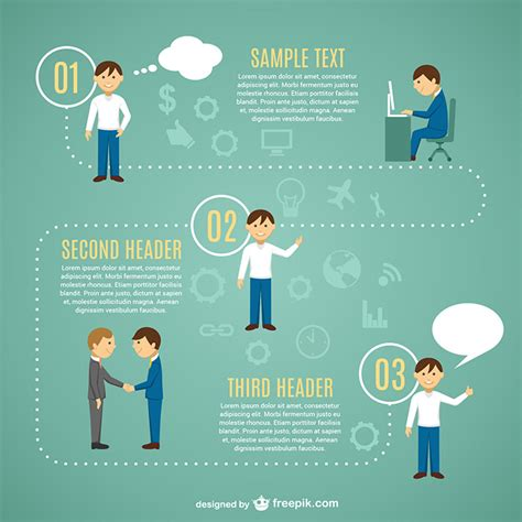 poster design job description 40 free infographic templates to download hongkiat