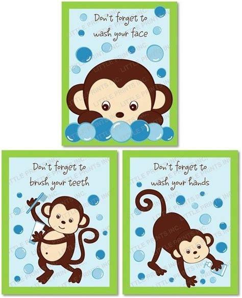 monkey bathroom 25 best ideas about bathroom printable on pinterest
