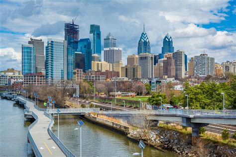 be beautiful philadelphia philly s skyline has room to grow compared to rest of u s