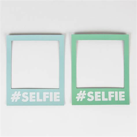 selfie magnetic polaroid photo frame
