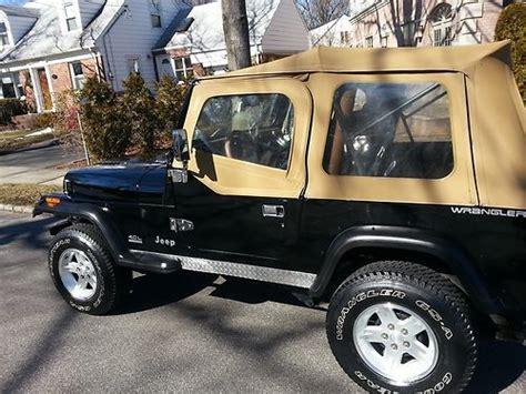 1995 Jeep Se Purchase Used 1995 Jeep Wrangler Yj Se Sport Utility 2