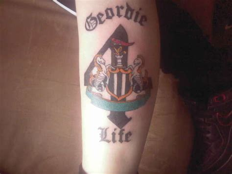 tattoo newcastle newcastle badge tattoo