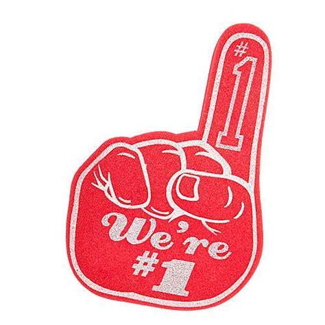 Kfeds Number One Fan by We Re Number One Fan Foam Finger Shindigz