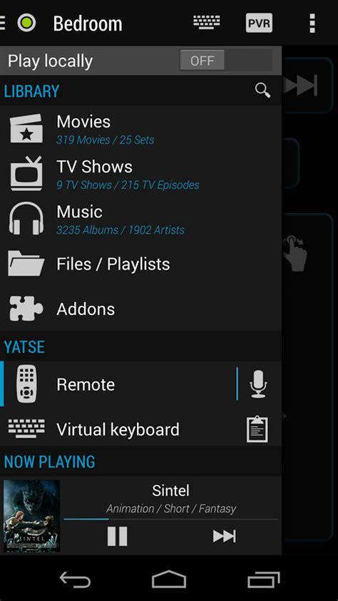 xbmc apk yatse the xbmc remote apk android free app feirox