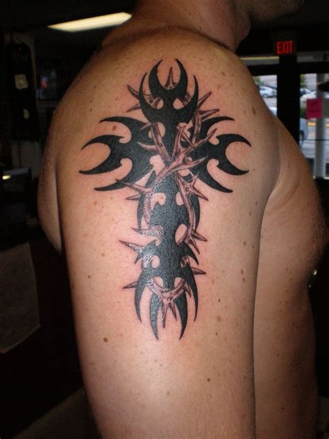 tattoo crosses images tribal cross tattoos3d tattoos