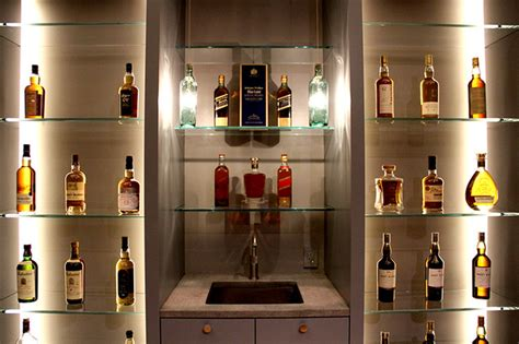 Pendant Light Over Kitchen Sink custom whiskey bottle pendant lights craftsman living