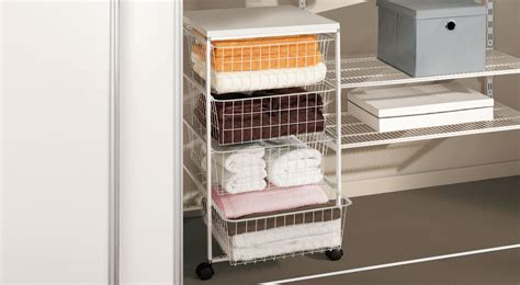 Wire Basket Drawers For Wardrobes by 90 Drawer Systems For Wardrobes Elvarli Shelf Unit