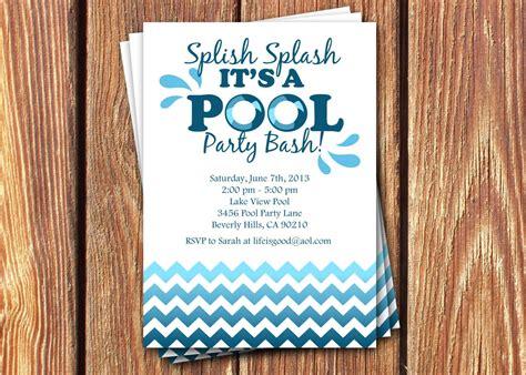 hawaiian birthday cards lovely luau pool party invitation luau