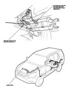 2004 cr v lx at check engine light honda service cides