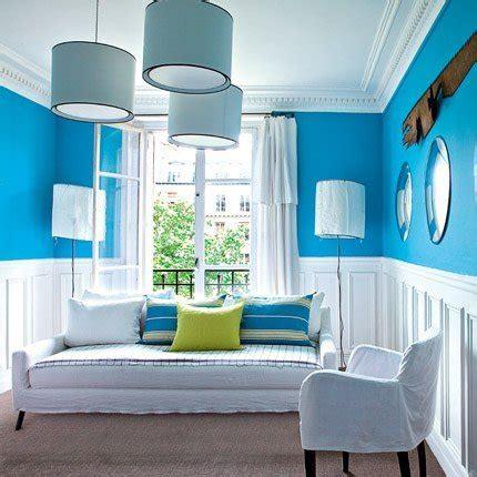 blue room un appartement parisien haut en couleurs maison