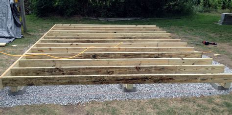 Shed Floor Joists by 12 215 16 Barn Style Gambrel Roof Shed Plans