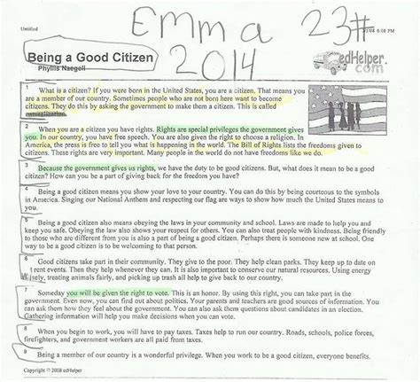 libro being good an introduction essay on responsibilities of a good citizen