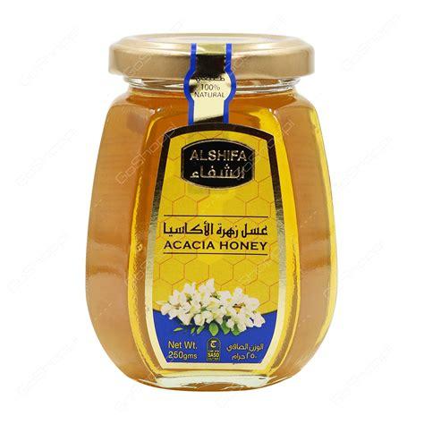 Al Shifa Acacia Honey 500 G buy cans jars products from grand supermarket