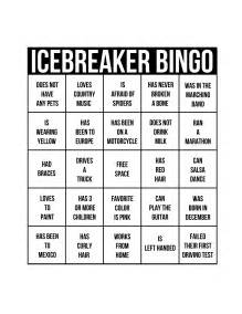 10 best images of ice breaker bingo printable bingo ice