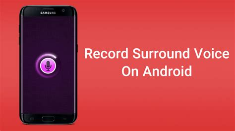 voice android record surround voice with android microphone remotely