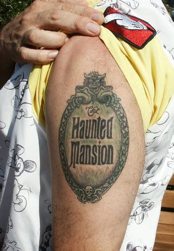 haunted mansion tattoo castmember flickr photo