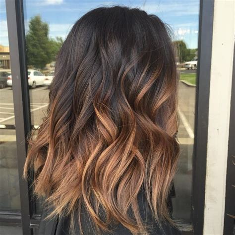 25 best ideas about dark ombre hair on pinterest dark hair with highlights balayage ombre hair brown intended for invigorate modern hairstyle