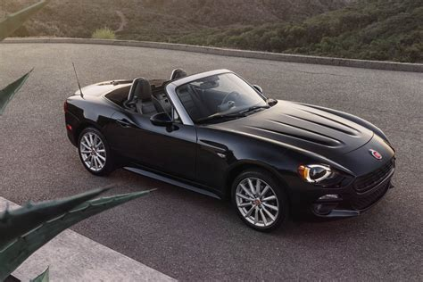 Sport Spider Black fiat 124 spider infos officielles los angeles 2015