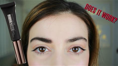 tattoo brow maybelline review boots new maybelline tattoo studio brow gel youtube