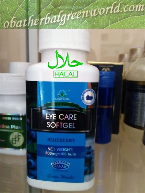 Obat Herbal Green eye care herbal kesehatan mata herbal green world global