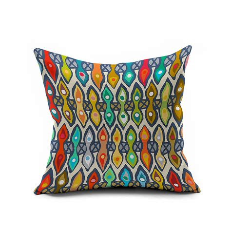 Colorful Decorative Pillows by Vintage Tribe Decorative Throw Pillows Colorful Morocco