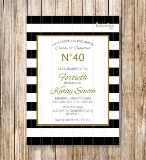 1000 Images About Chanel Party Ideas On Pinterest Birthdays Runway And Chanel Party Chanel Invitation Template