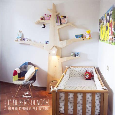 mensola cameretta albero mensola per le camerette dei bambini