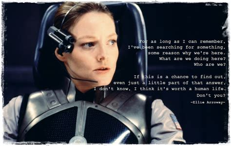 Film Contact Quotes   quotes from movie contact quotesgram