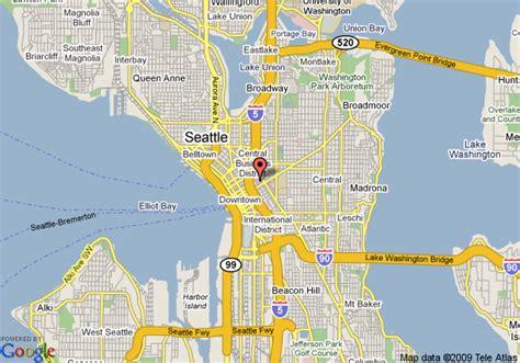 seattle va map map of inn at virginia seattle