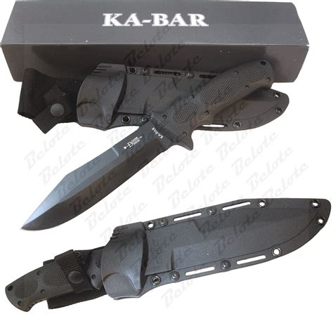 ka bar bull dozier knife ka bar knives bull dozier fixed blade w sheath 1275