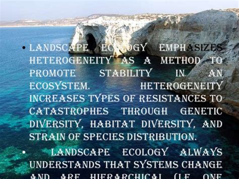 Landscape Ecology Definition Biology Landscape Definition In Ecology 28 Images Landscape
