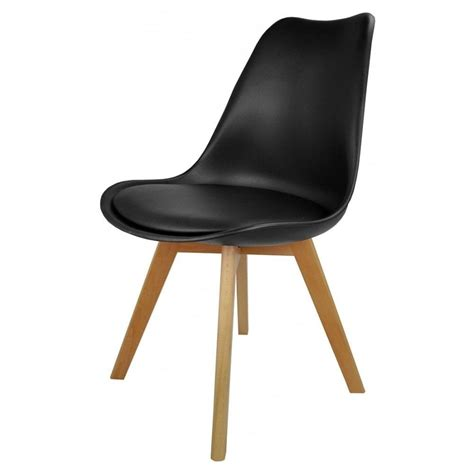 black faux leather dining chairs uk black plastic and faux leather dining chair from fusion living