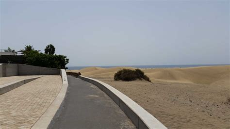 mirador de maspalomas dunes of maspalomas on gran canaria protected and
