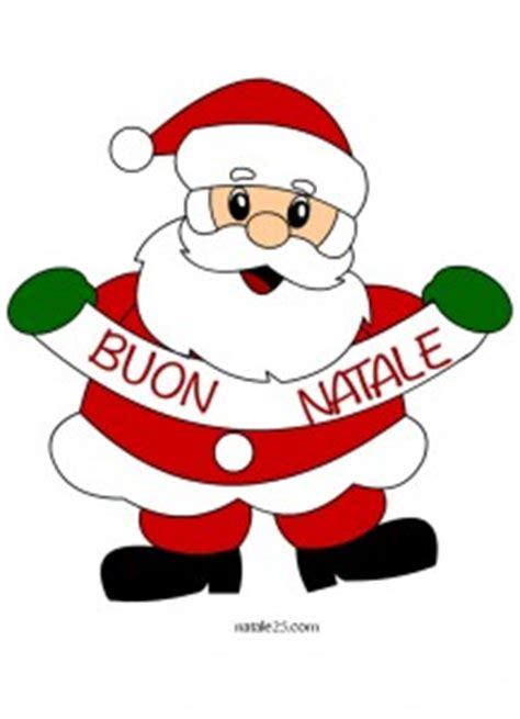clipart buon natale natale 25 letterine biglietti lavoretti disegni per