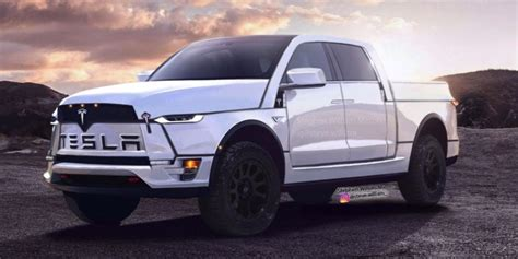 2019 Tesla Truck by A Fan Created A Rendering For A Tesla Truck And It