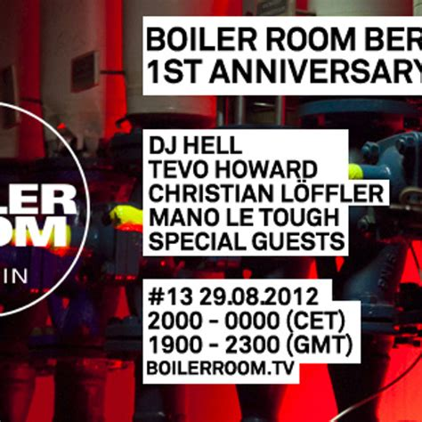 boiler room tv live tevo howard live in the boiler room berlin by boiler room free listening on soundcloud