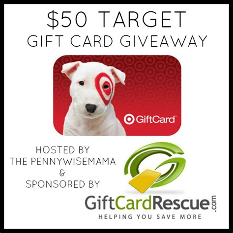 Where To Sell Target Gift Cards - sell unwanted gift cards for cash 50 target gift card giveaway the pennywisemama