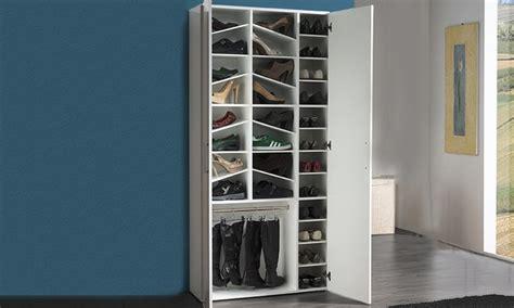 scarpiera cabina armadio armadio scarpiera groupon