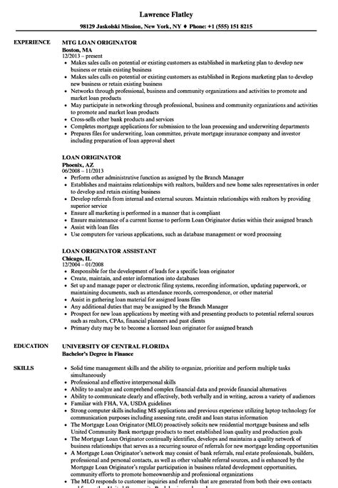 generous sle resume for loan officer pictures