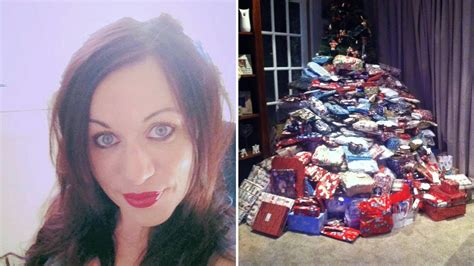 christmas presents for her mum hits back after being trolled for buying her kids 300
